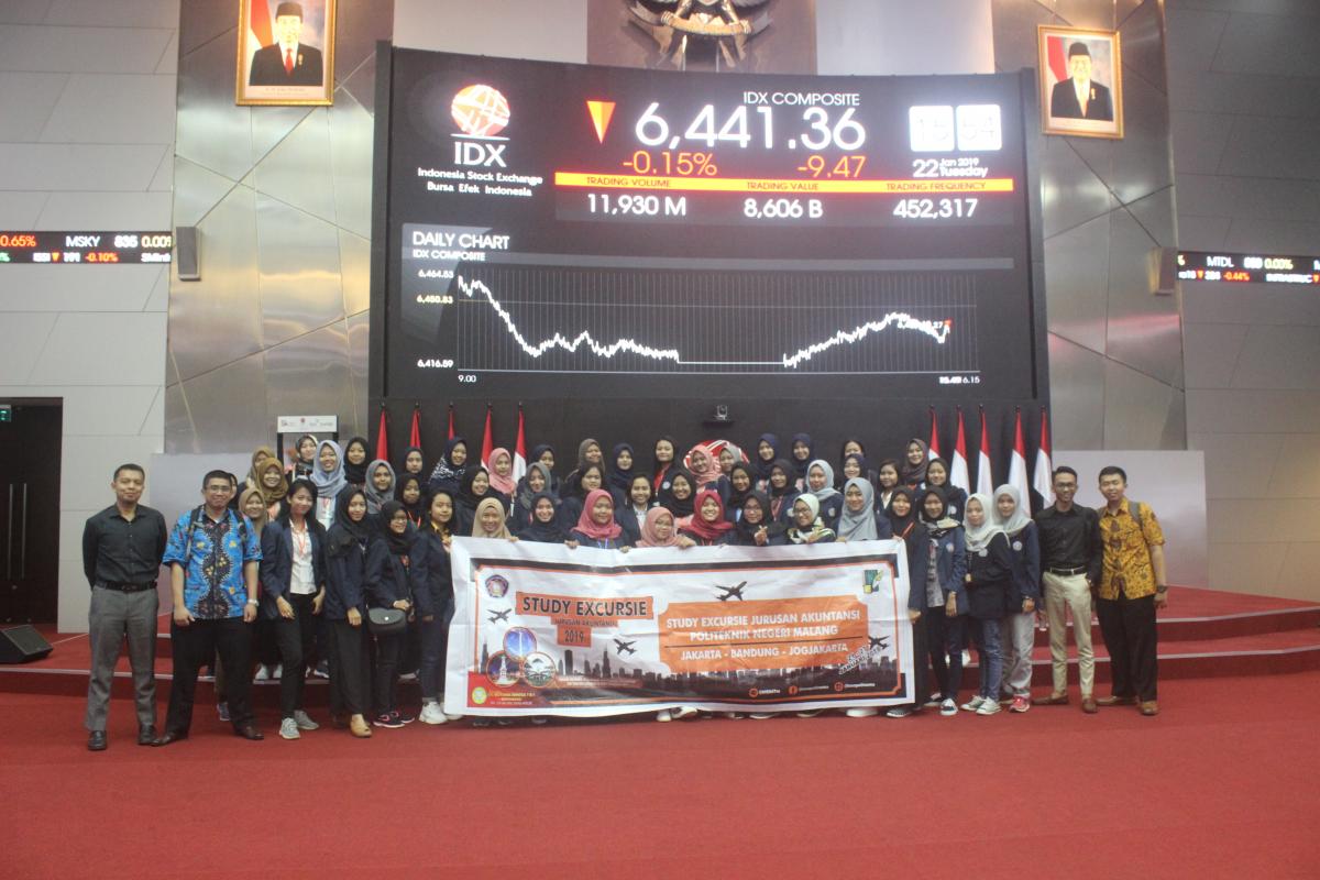 Kunjungan Study Excursie 2019 di Bursa Efek Indonesia Jakarta Selatan