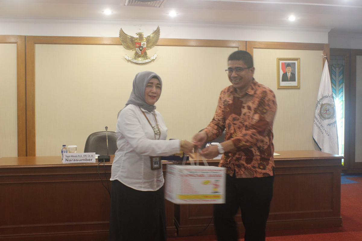 Kunjungan Study Excursie 2019 di Badan Pemeriksa Keuangan Jakarta Pusat