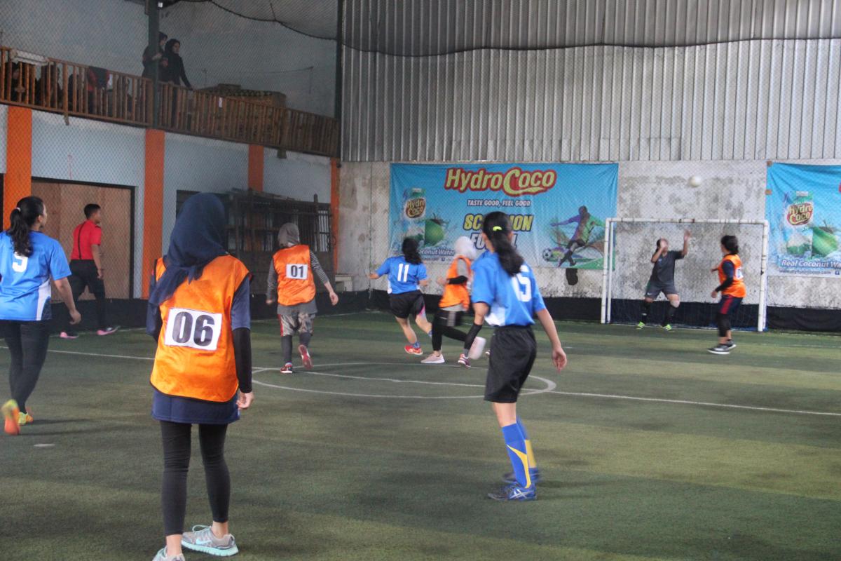 Pelaksanaan Futsal Putri AC 2019